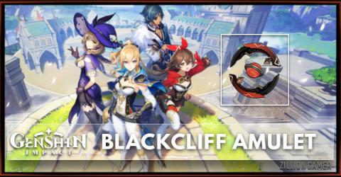 Blackcliff Amulet Stats, Passive Ranks, & Ascension