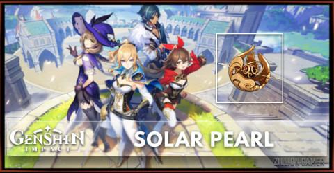 Solar Pearl Stats, Passive Ranks, & Ascension