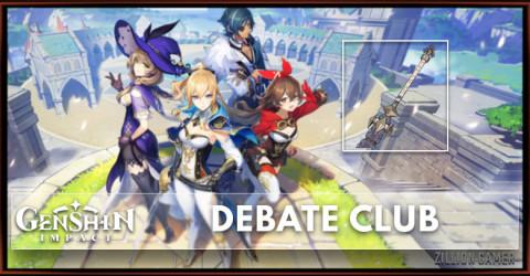 Debate Club Stats, Passive Ranks & Ascension