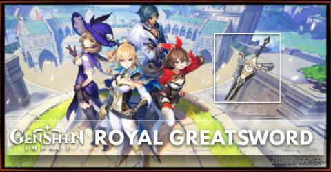 Royal Greatsword Stats, Passive Ranks, & Ascension