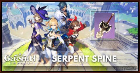 Serpent Spine Stats, Passive Ranks, & Ascension