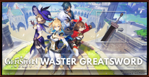 Waster Greatsword Stats, Passive Ranks, & Ascension