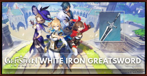 White Iron Greatsword Stats, Passive Ranks, & Ascension