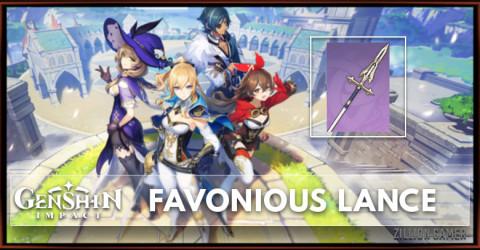 Favonius Lance Stats, Passive Ranks, & Ascension