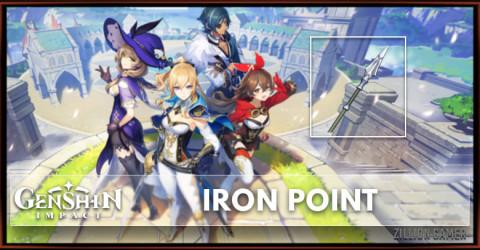Iron Point Polearm Stats, Passive Ranks, & Ascension