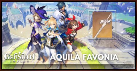 Aquila Favonia Stats, Passive Ranks, & Ascension