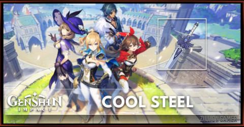 Cool Steel Stats, Passive Ranks, & Ascension