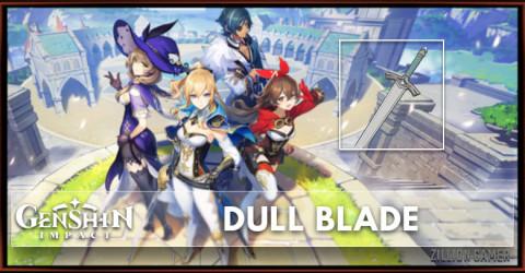 Dull Blade Stats, Passive Ranks, & Ascension