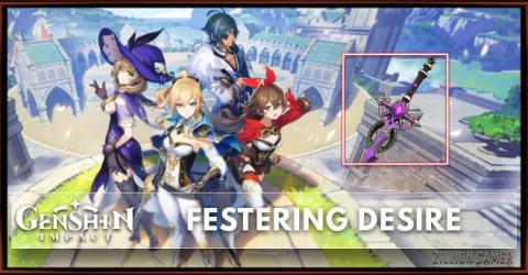 Festering Desire Stat, Passive Ranks, & Ascension