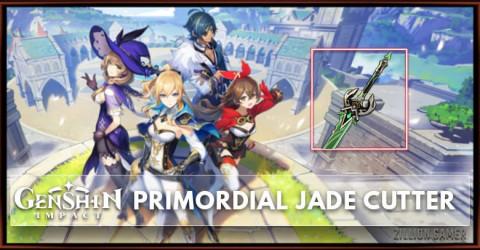 Primordial Jade Cutter Stats, Passive Ranks, & Ascension