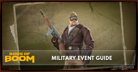 Gods of Boom Military Event Guide