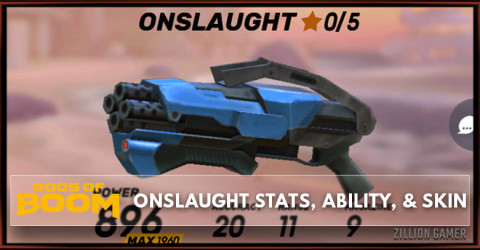 Onslaught Stats, Ability, & Skin