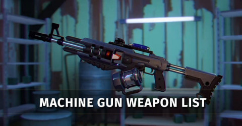 Gods of Boom Machine Gun Weapon List