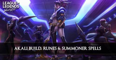 Akali Build, Runes, & Summoner Spells