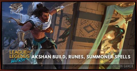 Akshan Build, Runes, Abilities, & Matchups