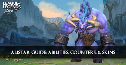 Alistar Guide, Abilities, Counters, & Skins