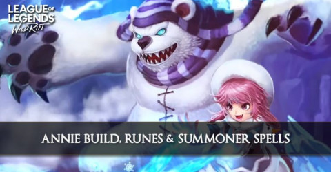 Annie Build, Runes, Abilities, & Matchups