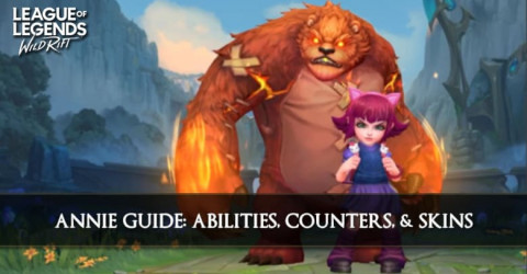 Annie Guide, Abilities, Counters, & Skins
