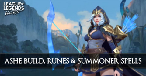 Ashe Build, Runes, & Summoner Spells