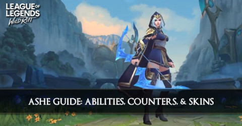 Ashe Guide, Abilities, Counters, & Skins