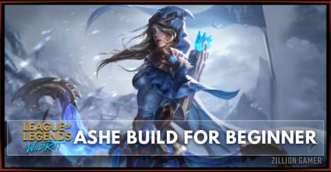 Ashe Wild Rift Build Guide for Beginner