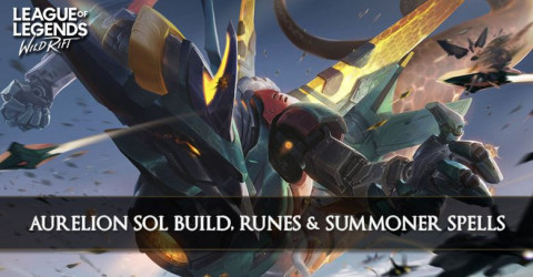 Aurelion Sol Build, Runes, Abilities, & Matchups