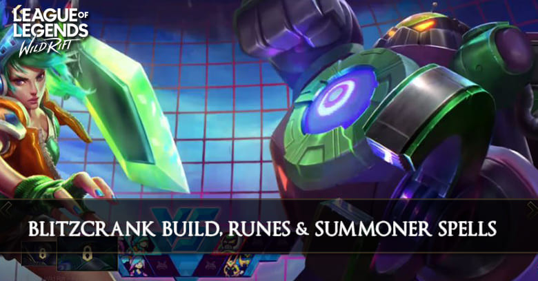 Blitzcrank Build League Of Legends Wild Rift Zilliongamer