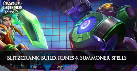 Blitzcrank Build, Runes, & Summoner Spells