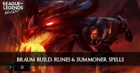 Braum Build Guide Season 1, Runes, & Skill Order
