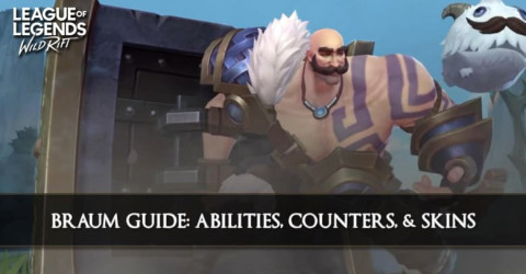 Braum Guide, Abilities, Counters, & Skins