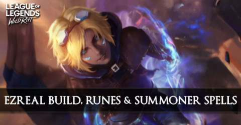 Ezreal Build, Runes, & Summoner Spells