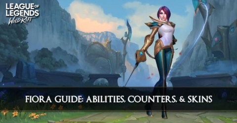 Fiora Guide, Abilities, Counters & Skins