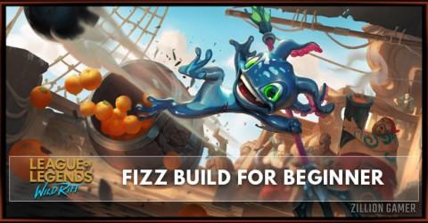 Fizz Wild Rift Build Guide for Beginner