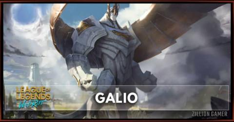 Galio Build, Runes, Abilities, & Matchups