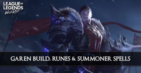 Garen Build, Runes, Abilities, & Matchups