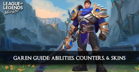 Garen Guide, Abilities, Counters & Skins
