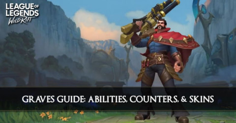 Graves Guide, Abilities, Counters, & Skins
