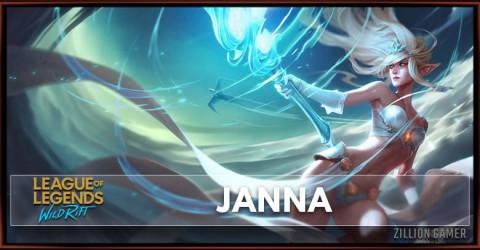 Janna Build, Runes, Abilities, & Matchups