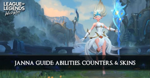 Janna Guide, Abilities, Counters, & Skins