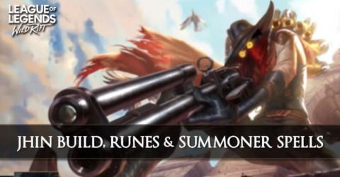 Jhin Build, Runes, Abilities, & Matchups