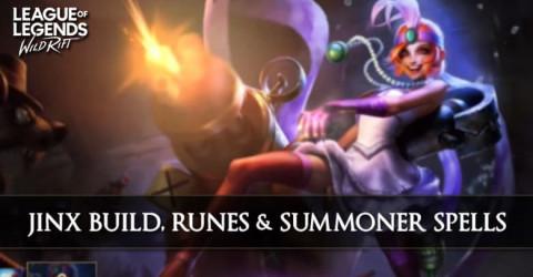 Jinx Build, Runes, & Summoner Spells