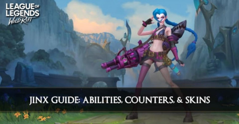Jinx Guide, Abilities, Counters, & Skins