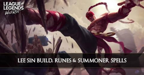 Lee Sin Build, Runes, Abilities, & Matchups