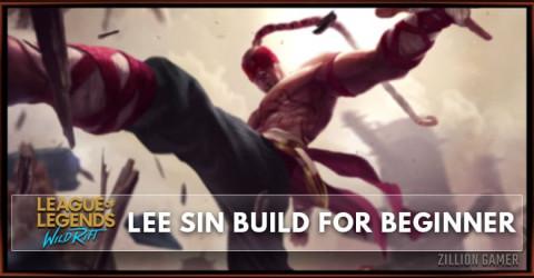 Lee Sin Wild Rift Build Guide for Beginner