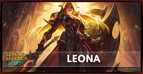 Leona Build, Runes, Abilities, & Matchups