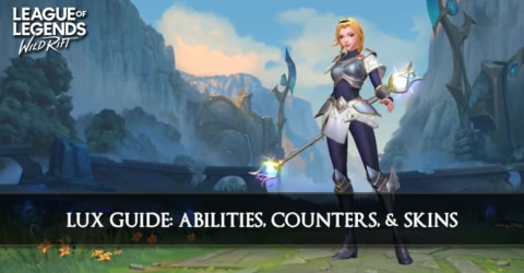 Lux Guide, Abilities, Counters, & Skins