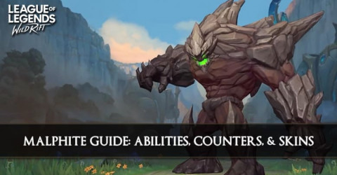 Malphite Guide, Abilities, Counters, & Skins