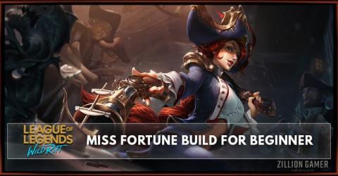 Miss Fortune Wild Rift Build Guide for Beginner