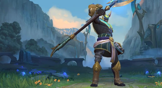 League of Legends Wild Rift Nasus Default skins - zilliongamer