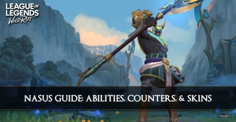 Nasus Guide, Abilities, Counters, & Skins
